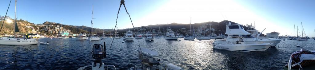 Panoramic Iphone photo of Avalon. Photo credit: Greg Ulrich.