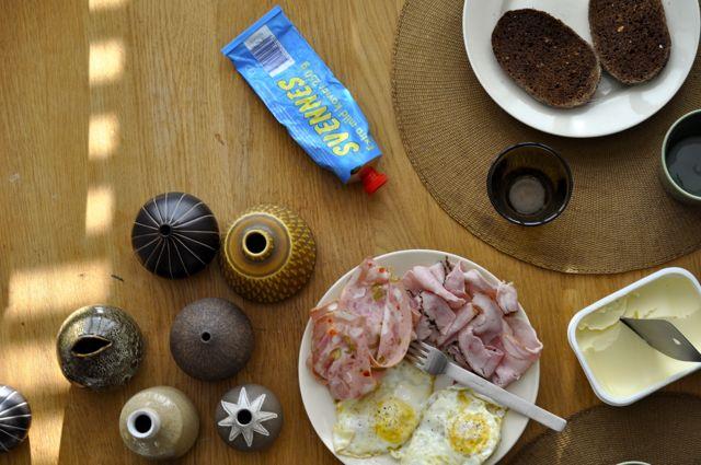 Swedish breakfast.